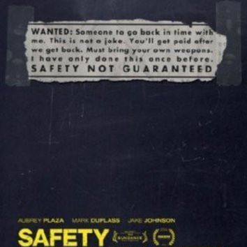 Safety Not Guaranteed Movie Poster Standup 4inx6in