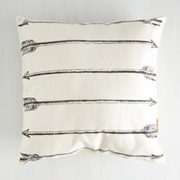 Boho Let the Aims Begin Pillow by ModCloth