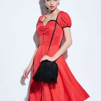 1950's Rockabilly Style Women's Vintage Dress