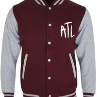 All Time Low Ghostline Baseball Jacket - Buy Online at Grindstore.com