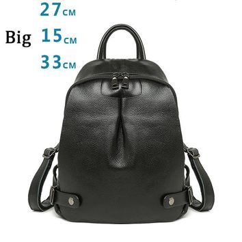 University College Backpack YUFANG Girls  Genuine Leather School Bag Student  Style Daily Bag Large Capacity Women  Fashion RucksackAT_63_4