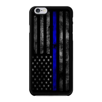 American Police Officer The Thin Blue Line Iphone 6 / 6S Case