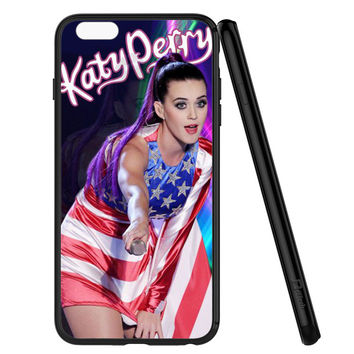 Katy Perry US flag iPhone 6 | 6S Case Planetscase.com
