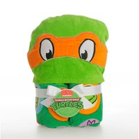 Teenage Mutant Ninja Turtles Toddler Hooded Towel (Green)