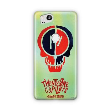 Twenty One Pilots Skeleton Clique Google Pixel 3 XL Case | Casefantasy