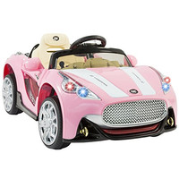 12V Car Kids RC Car Electric Battery Power Ride On with Radio & MP3, Pink