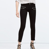 Powerstretch biker trousers