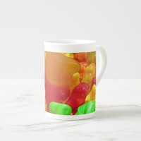 Gummy Bear Crowd Tea Cup