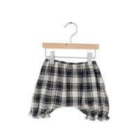Baby Plaid Knit Bloomers