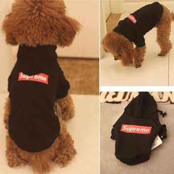 One-nice™ Supreme Dogs Clothes Top Hoodie
