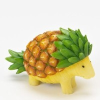 Home Grown from Enesco Pineapple Porcupine Figurine 2.2 IN