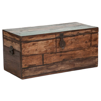 Bali Large Recycled Wood Box | Overstock.com Shopping - The Best Deals on Coffee, Sofa & End Tables
