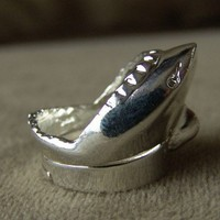 1978 Jaws 2 Metal SHARK Promotion Ring
