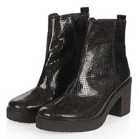 BAY Snake Heeled Boots - New In This Week - New In