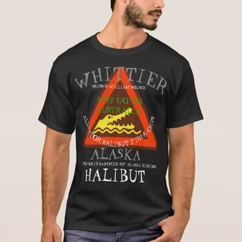 ALLIGATOR HALIBUT FISH AND CHIPS T-Shirt