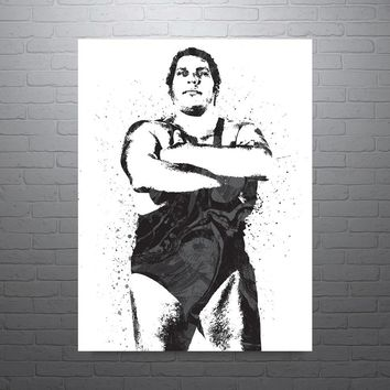 Andre the Giant WWE Poster