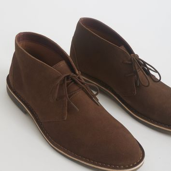 The Idle Man Suede Desert Boot Tan