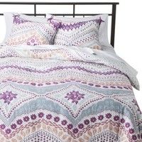 Boho Boutique™ Bombay Fleur Reversible Comforter Set