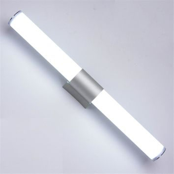 Modern LED Wall Lamps Bathroom Led mirror light 12W 16W 22W AC85-265V Acrylic  LED tube Wall lamp Bathroom Makeup Lighting
