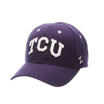 online store 91b0a 23b53 Licensed Tcu Horned Frogs Official NCAA Competitor Adjustable Hat Cap by  Zephyr 969755 KO 19 1