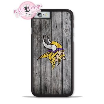 Minnesota Vikings Football Phone Cover Case For Apple iPhone X 8 7 6 6s Plus 5 5s SE 5c 4 4s For iPod Touch
