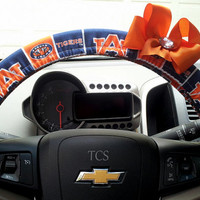 Auburn University Tigers Steering Wheel Cover with Bow