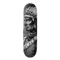 American Indian Chief Skateboard from Zazzle.com