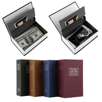 Hot Steel Simulation Dictionary Secret Book Safe  Box