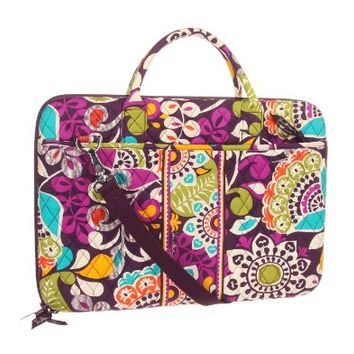 Vera Bradley Laptop Portfolio in Plum Crazy