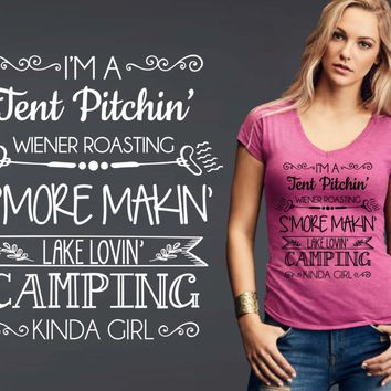 Camping Kinda Girl T-shirt