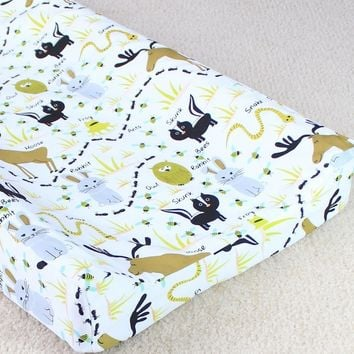 Changing Pad Cover - Woodland Animals