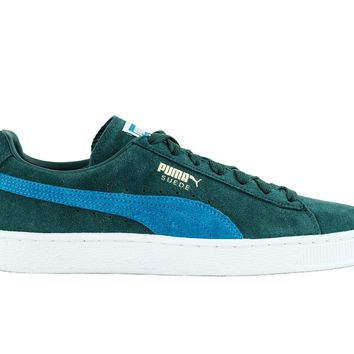 Puma Suede Classic+ Forest Green/Blue