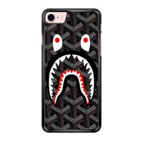 Goyard Bape Shark Black iPhone 7 Case