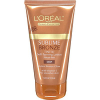 Sublime Bronze Tinted Self Tanning Lotion