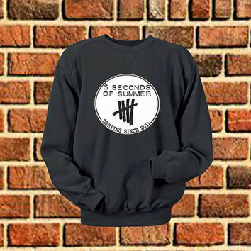 5 Seconds Of Summer logo sweater Sweatshirt Crewneck Men or Women Unisex Size