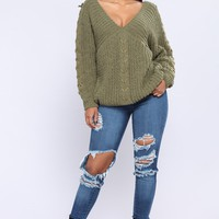 Alsen Sweater - Green