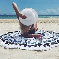 MyNeLo New Arrival 2016 Hippie Round Mandala Tapestry Indian Wall Hanging Beach Throw Towel Yoga Mat Home Decor