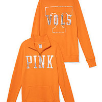 University of Tennessee Half-zip Pullover - PINK - Victoria's Secret
