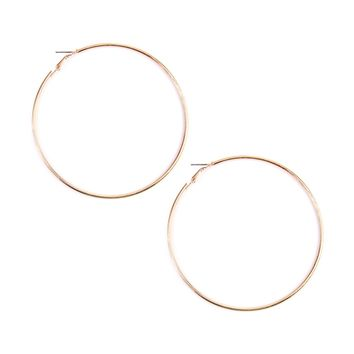 Goldtone Hoop Earrings