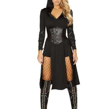 Roma Costume 4845 3pc The Queens Assassin