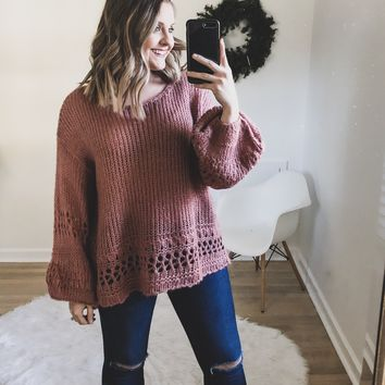 Aubree Woven Sweater
