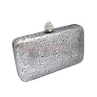 Vouge Women Evening Clutch Purse Bag Party Handbag Bags With Chain HU