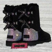 Custom UGGS, Adult bling UGGS, Womens uggs, womens ugg boots, bling uggs, blingged ugg