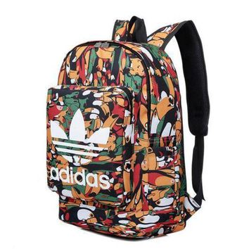 PEAPON Adidas' Floral Casual Style School Backpacks Laptop Backpack Should Bag Travel Bag
