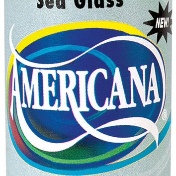 Americana Acrylic Paint 2oz-Sea Glass - Opaque