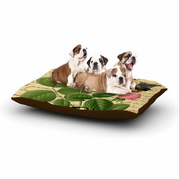 "Suzanne Carter ""Vintage Cycle"" Floral Dog Bed"