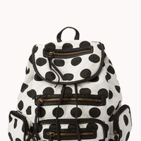 Sweet Polka Dot Backpack