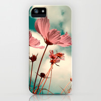 cosmos flowers II iPhone & iPod Case by Blackpool