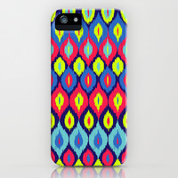 Neon Ikat iPhone & iPod Case by Arcturus