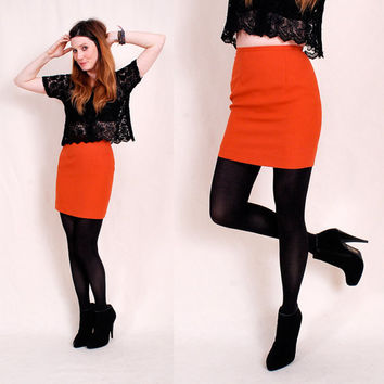 Amazing 90s Bandage Mini Skirt xs/s insanely by paramountvintage